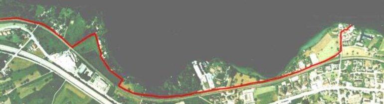 Seeweg von der Schiffanlegestelle Altendorf nach Rapperswil